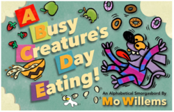 A Busy Creature's Day Eating book