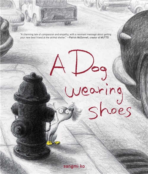 A Dog Wearing Shoes book