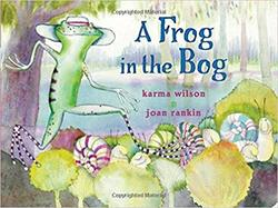 A Frog in the Bog book