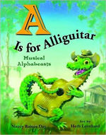 A is for Alliguitar: Musical Alphabeasts book