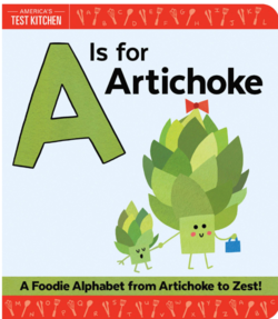 A Is for Artichoke book