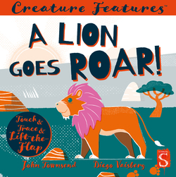A Lion Goes Roar! book
