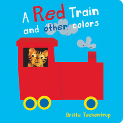 A Red Train and Other Colors book