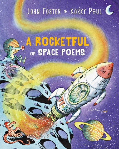 A Rocketful of Space Poems book