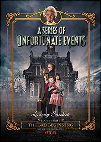 A Series of Unfortunate Events #1: The Bad Beginning Book