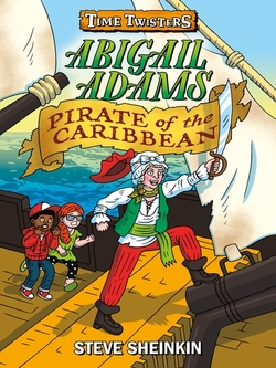 Abigail Adams, Pirate of the Caribbean book