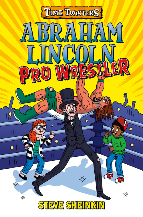 Abraham Lincoln, Pro Wrestler book