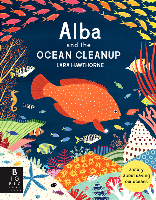 Alba and the Ocean Cleanup book