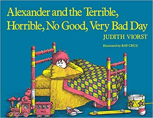 Alexander and the Terrible, Horrible, No Good, Very Bad Day Book