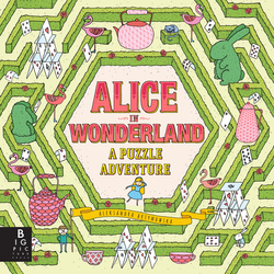 Alice in Wonderland: A Puzzle Adventure book