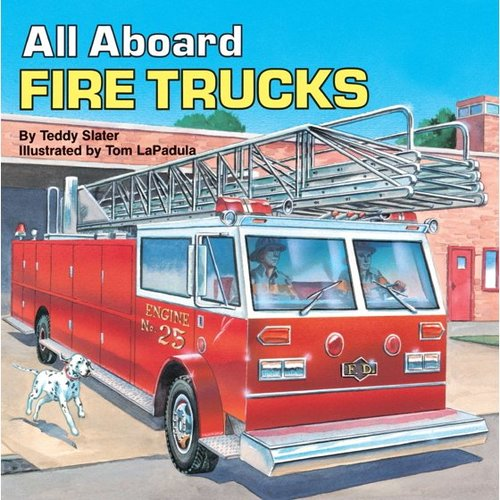 All Aboard Fire Trucks book
