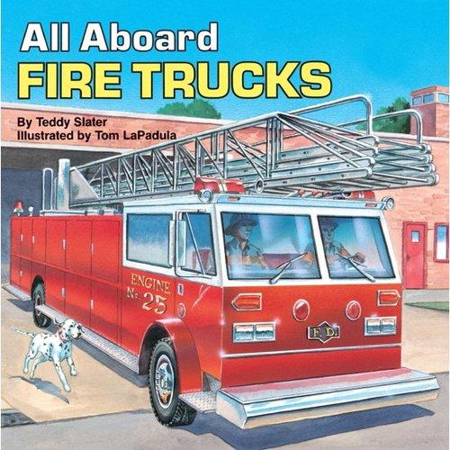 All Aboard Fire Trucks book