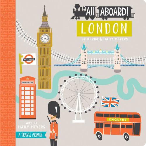 All Aboard! London book