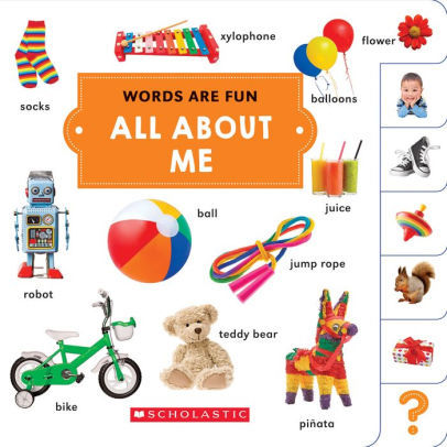All About Me: Words Are Fun book