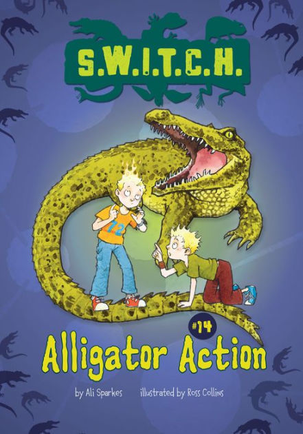 Alligator Action book