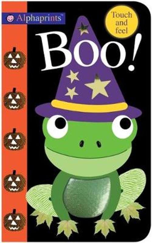 Alphaprints: Boo! book