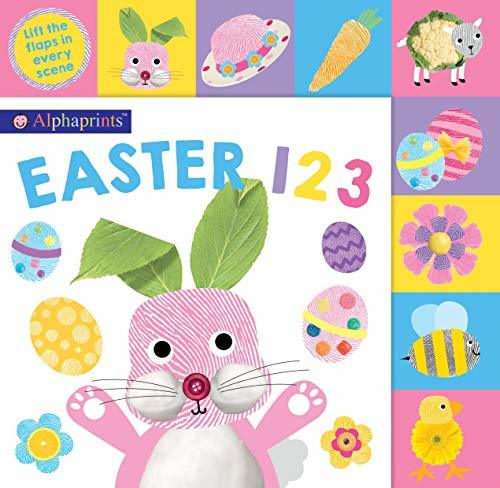Alphaprints: Easter 123 book