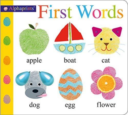 Alphaprints First Words book