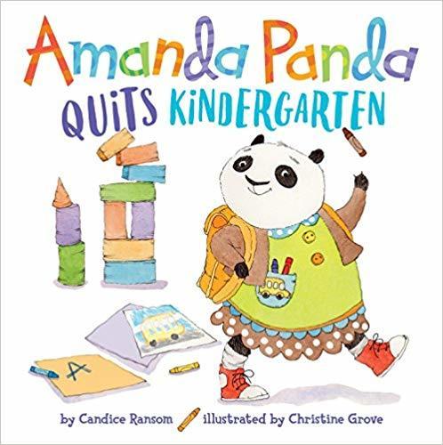 Amanda Panda Quits Kindergarten book