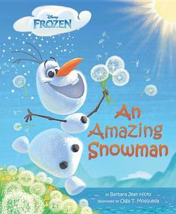 Amazing Snowman book