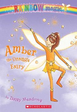 Amber the Orange Fairy (Turtleback School & Library) book