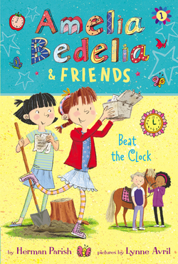 Amelia Bedelia & Friends Beat the Clock book