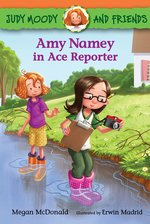 Amy Namey in Ace Reporter book