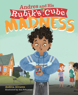 Andres and His Rubik's Cube Madness book