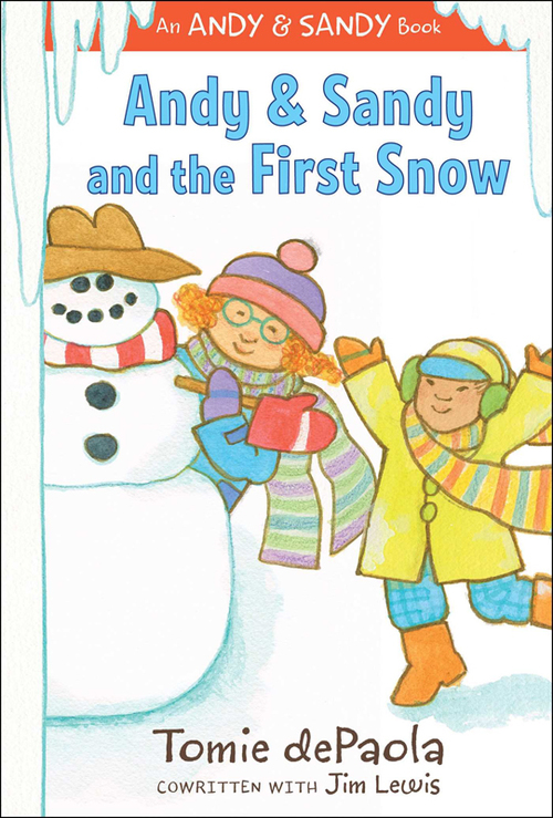 Andy & Sandy and the First Snow book