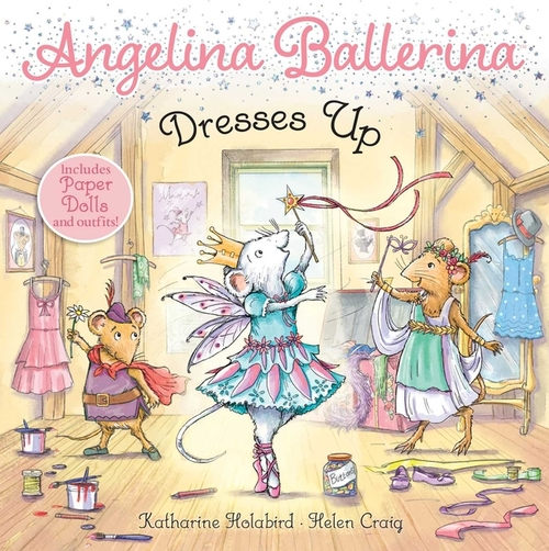 Angelina Ballerina Dresses Up book