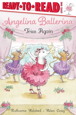Angelina Ballerina Tries Again book