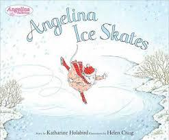Angelina Ice Skates book