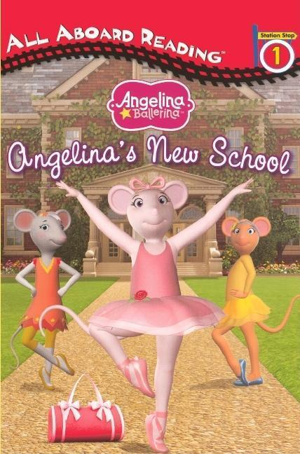 Angelina's New School book