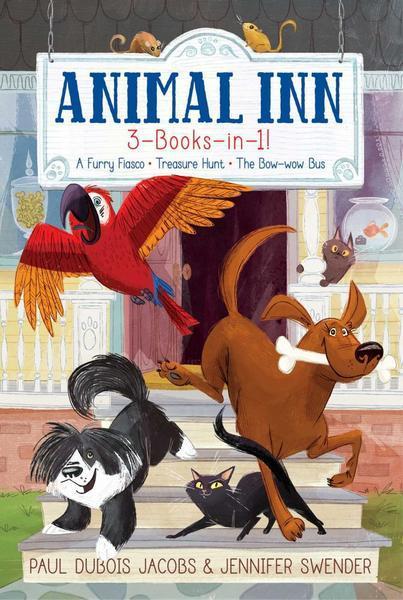 Animal Inn 3-Books-in-1! book