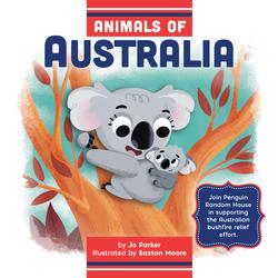 Animals of Australia book