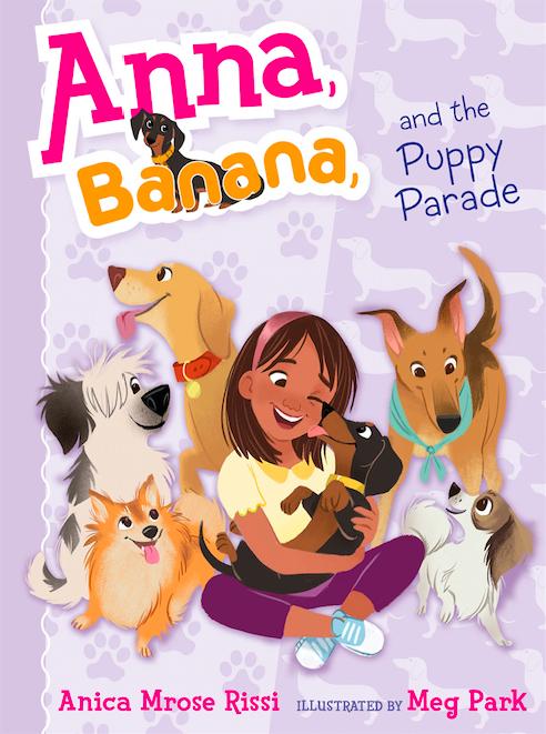 Anna, Banana, and the Puppy Parade book