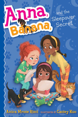 Anna, Banana, and the Sleepover Secret book