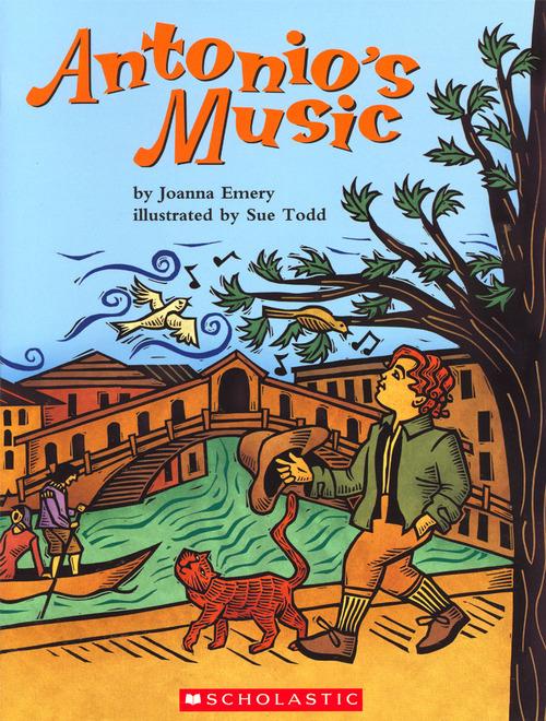 Antonio's Music book