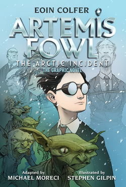 Artemis Fowl the Arctic Incident (Graphic Novel) book
