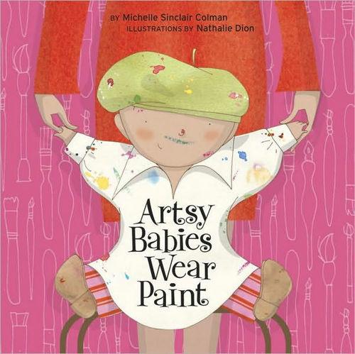 Artsy Babies Wear Paint book