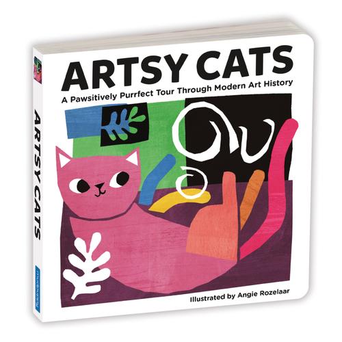 Artsy Cats Board Book book