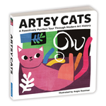 Artsy Cats Board Book book