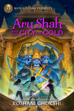Aru Shah and the City of Gold book