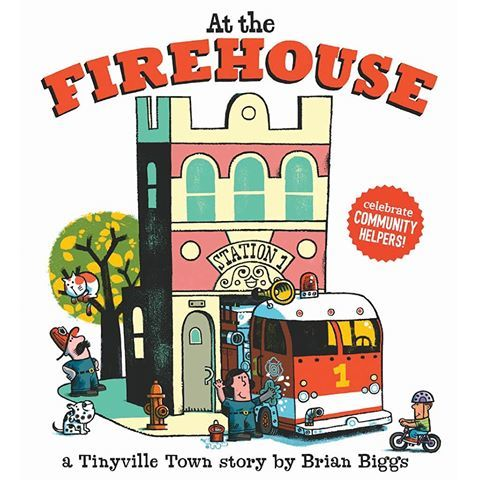 At the Firehouse (a Tinyville Town Book) book
