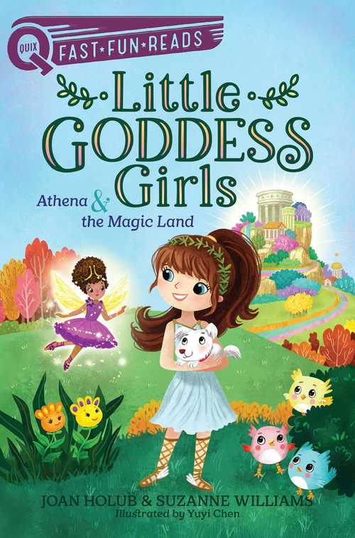 Athena & the Magic Land book