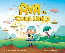 Ava in Code Land book