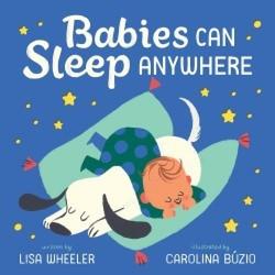 Babies Can Sleep Anywhere book