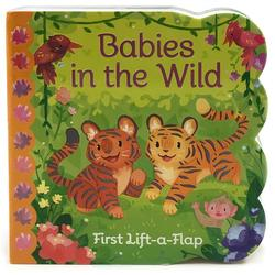 Babies in the Wild: First Lift-a-Flap book