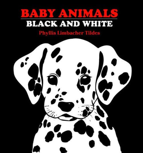 Baby Animals Black and White book