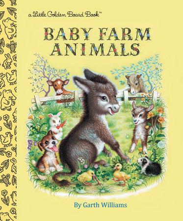 Baby Farm Animals book